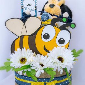 pelenkatorta, ingyenes szállítás, méhecske
